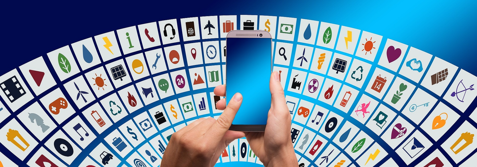 Mobile technology is now widely used all over the world.