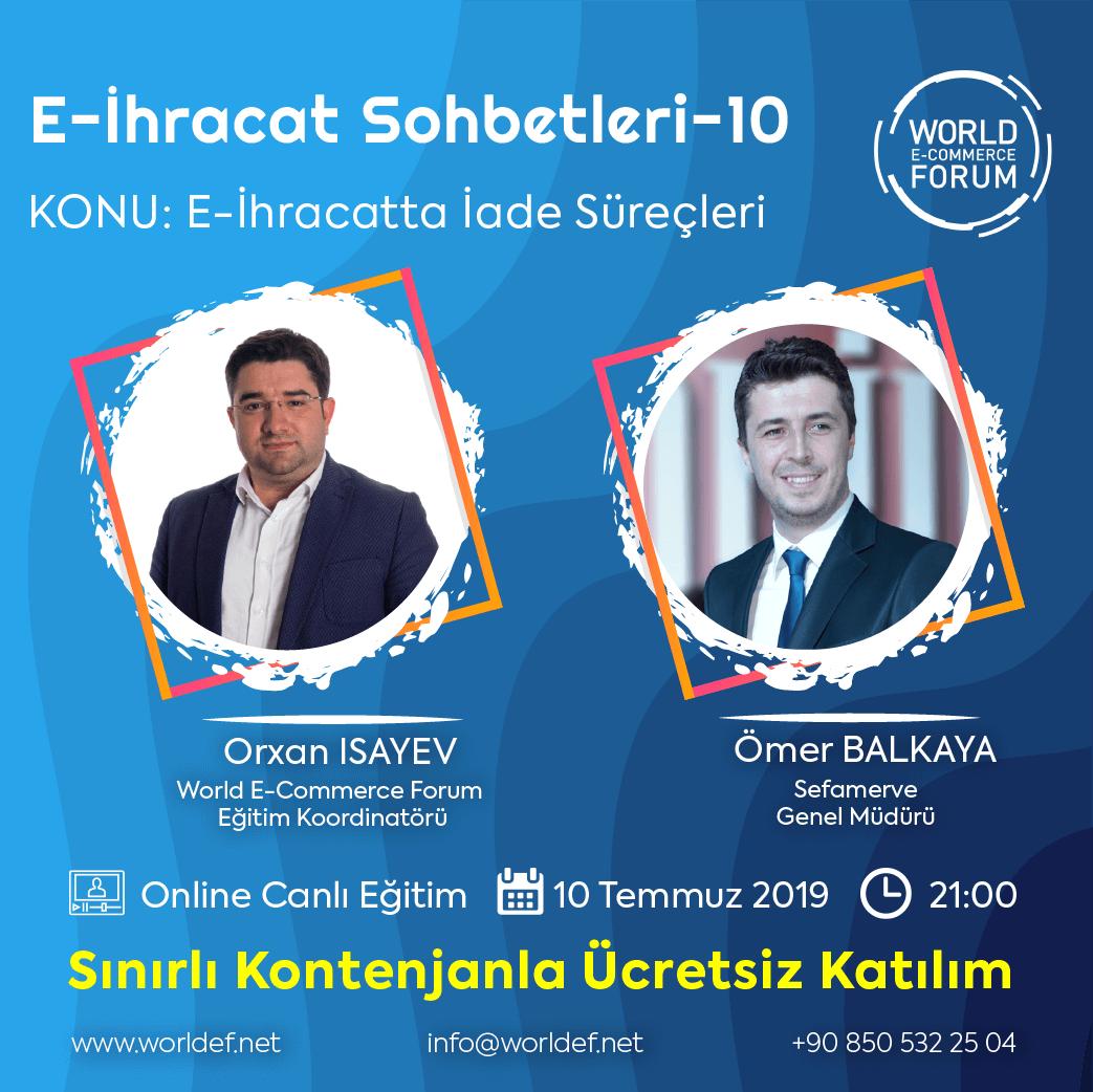 This week, we are hosting Sefamerve.com General Manager Ömer Balkaya in the cross-border e-commerce webinars program!