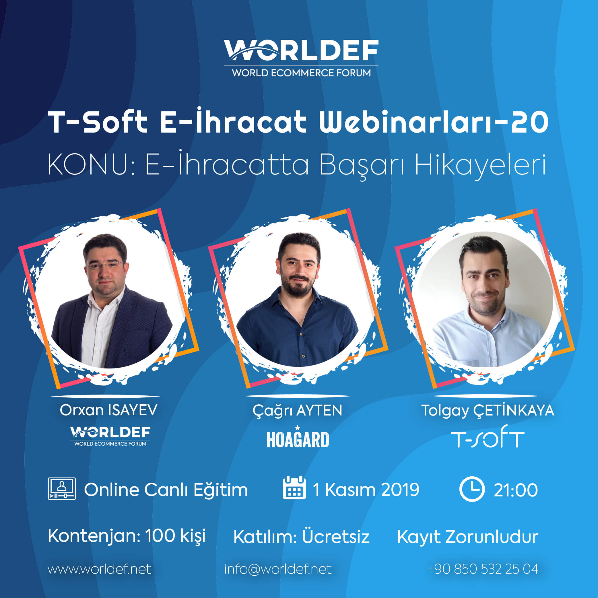 In the series of cross-border e-commerce webinars, Çağrı Ayten, one of the founding partners of Hoagard, will tell about this unique brand that emerged by cross-border e-commerce!