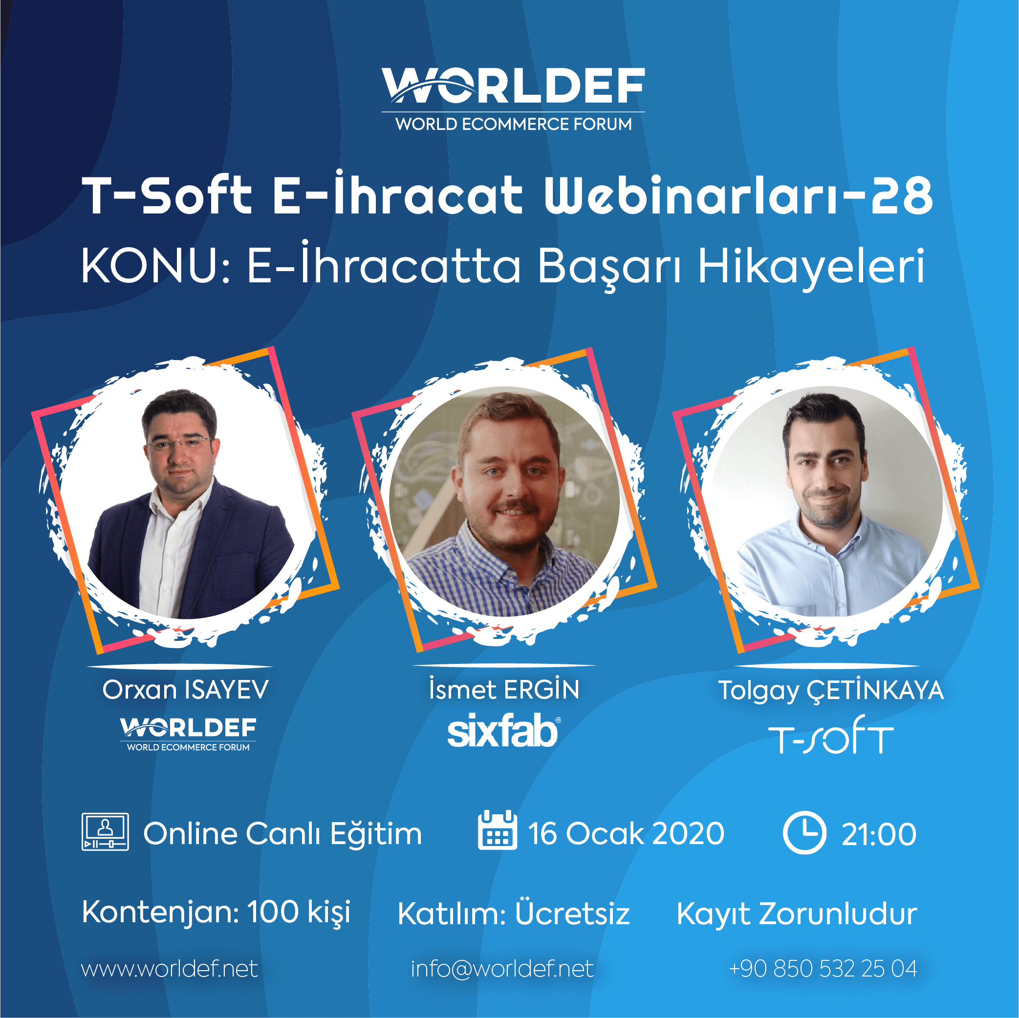 """In the cross-border e-commerce webinars series, we continue with the """"Cross-Border E-Commerce Success Stories"""" this week. This week's guest will be İsmet Ergin, the founder of Robotistan.com!"""