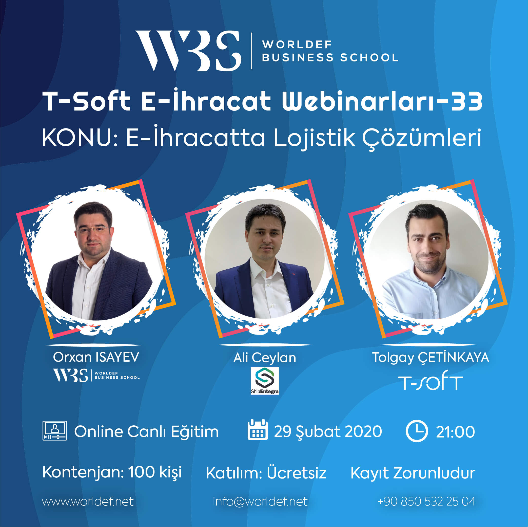 During the Cross-Border E-Commerce Webinars week, we will discuss the logistics issue, which has an important place in cross-border e-commerce! Our guest will be Ali Ceylan, founder of ShipEntegra!