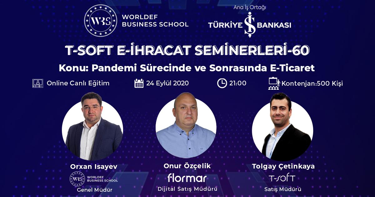 E-ihracat webinarları haftasında Flormar Dijital Pazarlama Müdürü Onur Özçelik konuğumuz olacak.