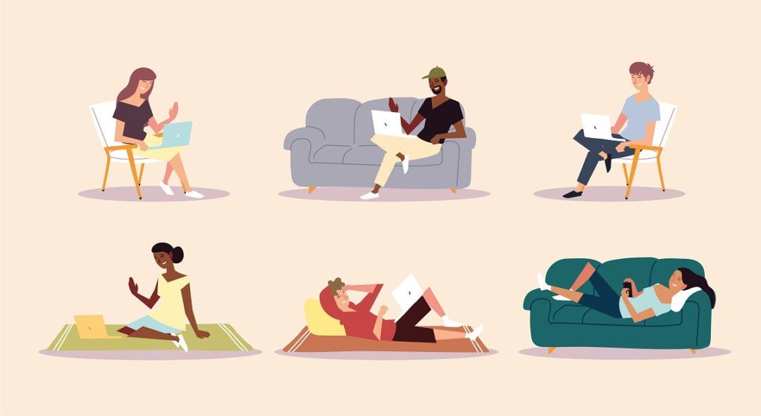 Artık uzaktan çalışma, evden çalışma ya da homeoffice kavramları daha çok konuşuluyor.