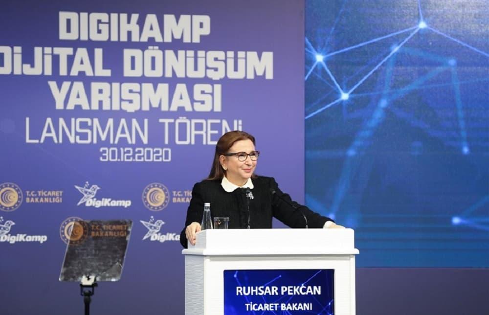Digikamp yarışması; ticaretin kolaylaştırılmasına yönelik geliştirilecek dijital çözümler için bir arayüz vazifesi görecek.