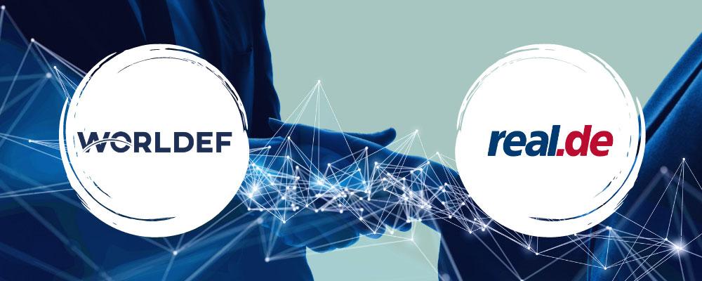 WORLDEF, Alman online pazaryeri Real.de iş birliği yaptı.