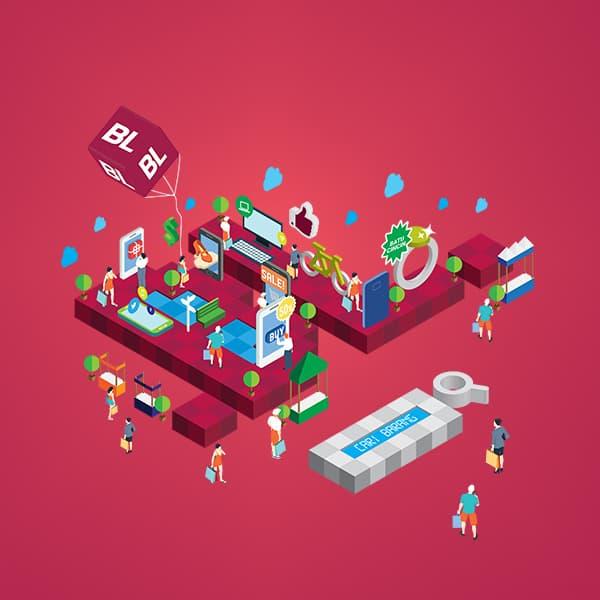 Bukalapak, Endonezya'da küçük aile işletmelerine online satış sağlıyor.