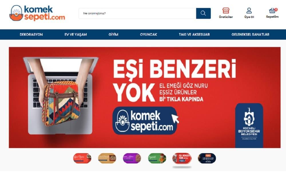 """İzmit Belediyesi """"İzmit Çarşısı"""" adlı e-ticaret platformlarını hayata geçirdi."""