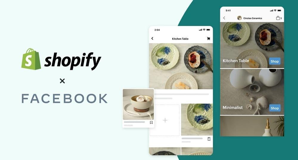 Shopify, Facebook ile yeni bir ortaklık yaptı.
