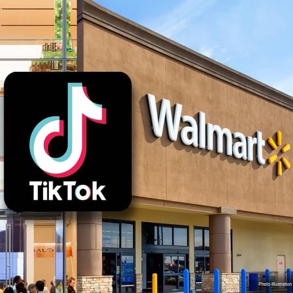 Walmart, TikTok üzerinden canlı alışveriş olanaklarına odaklanmış durumda.